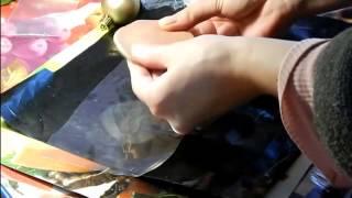 Молд для лепестка розы своими руками  Mold making(Это мастер класс, по лепке молда из запекаемой полимерной глины для лепестка розы. Я раньше уже показывала..., 2015-02-15T16:37:58.000Z)