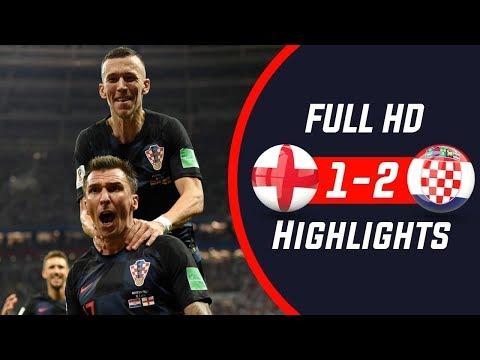 HIGHLIGHTS!!! Anglia Vs Chorwacja Mistrzostw świata 2018