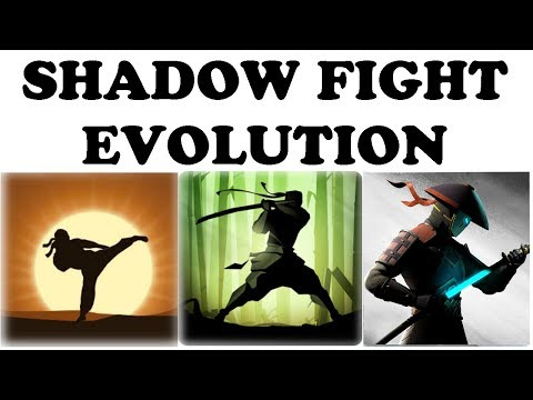 SHADOW FIGHT 1,2 & 3 EVOLUTION OF THE GAME