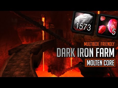 Dark Iron Ore Farming - Multibox Friendly