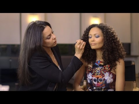 Red Carpet Makeup Tutorial With Thandie Newton