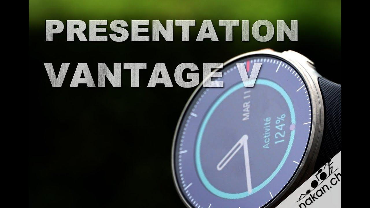 Présentation de la Polar Vantage V (en français) - YouTube a1c940edfbd