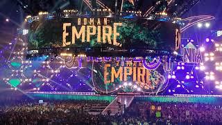 Wrestlemania 34 Roman Reigns & Brock Lesnar Entrance