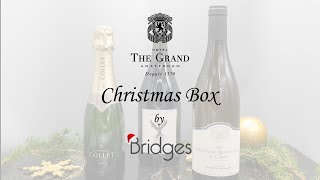 The Grand Christmas Box by Bridges Prestige Wine Package instructions