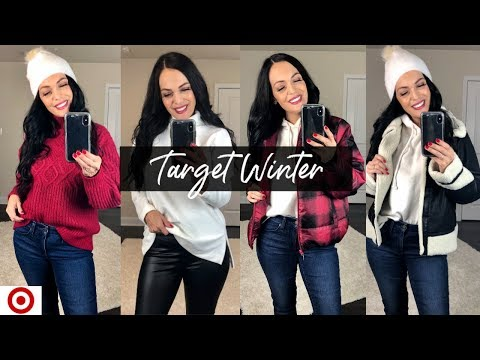 TARGET WINTER TRY ON | NEW TARGET CLOTHING HAUL 2019