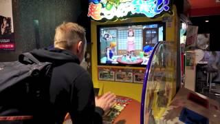 Cho Chabudai Gaeshi! SUPER TABLE FLIP Japanese Arcade Game in Akihabara, Tokyo