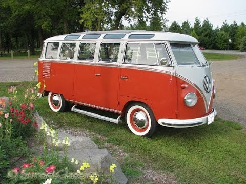 Restored 1957 VW 23-Window Bus for Sale