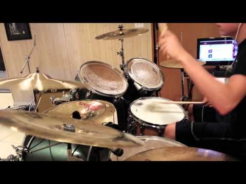 Nuclear  (Hands Up) (Zomboy) Drum Cover By...