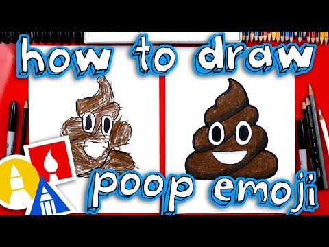 How To Draw The Poop Emoji 💩