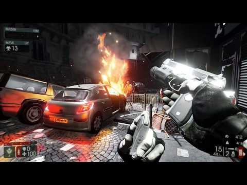 Killing Floor 2 - 9 Player Coop - Burning Paris