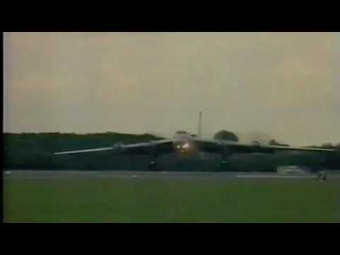 Tu-95MS visits the UK for the first time '93