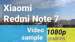 Xiaomi Redmi Note 7 1080p@30fps video sample