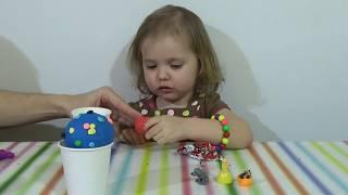 Мороженое с сюрпризом Play-doh