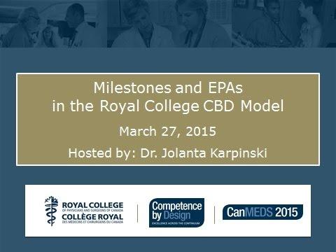 March 27 2015  CBD Webinar EPA Milestones