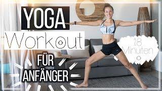Yoga für Anfänger - Verspannungen lösen & Kraft steigern - Pilates Workout