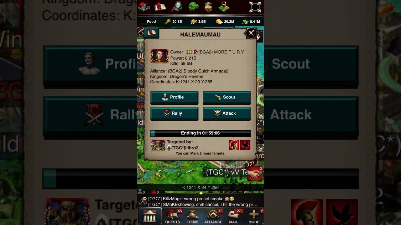 Download (Game of War) Zeroing a BGA2 player