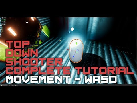 Unity Top Down Shooter Part 2 – Movement – Joe Roe Games