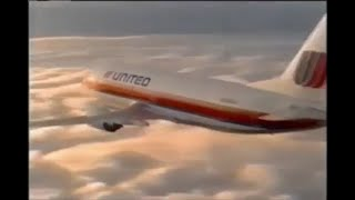 1989 United Airlines Bed Flopper Commercial