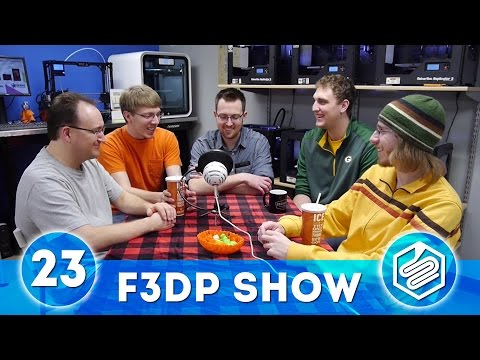 F3DPS Episode 23 - Education and LulzBot News