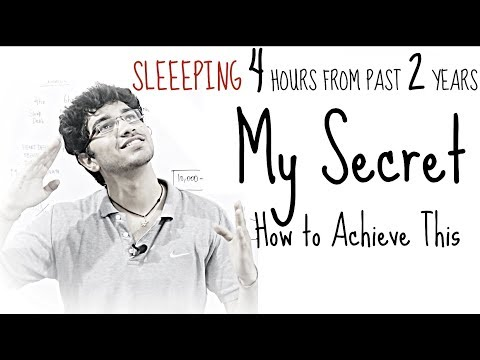 How 4 Hour Sleep increased my Performance and Efficiency | Just Sharing Past 2 Years of Experience
