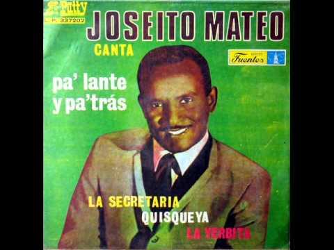 JOSEITO MATEO - PA LANTE Y PA TRAS