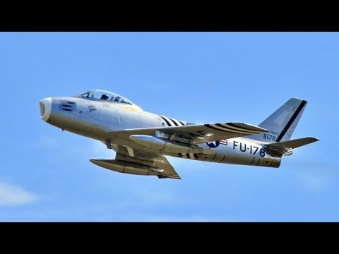 North American F-86 Sabre Jet Fighter