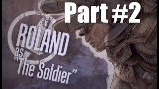 Borderlands Walkthrough Part 2 - Soldier Gameplay Commentary HD 1080p 60fps Playthrough