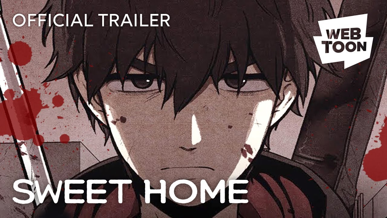 When you open your eyes, all you see are monsters.try to s. Sweet Home Official Trailer Webtoon Youtube