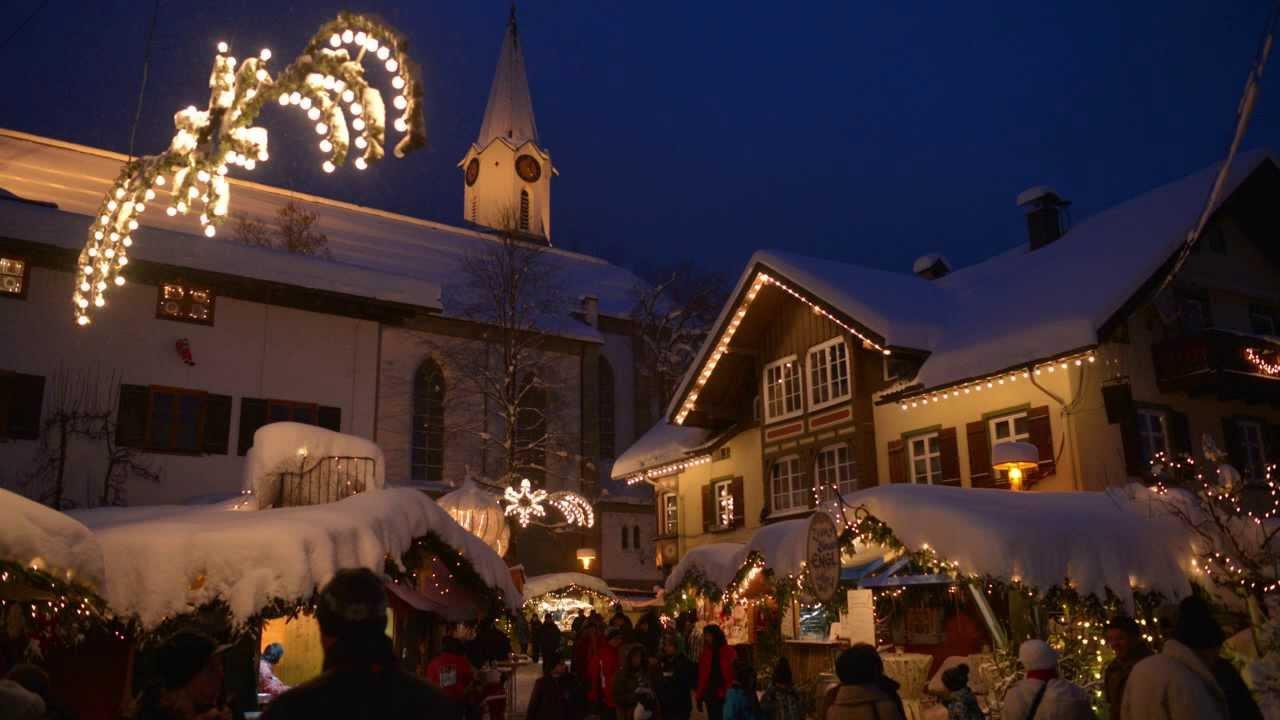 Bad Hindelang Weihnachtsmarkt.Hindelanger Weihnachtsmarkt