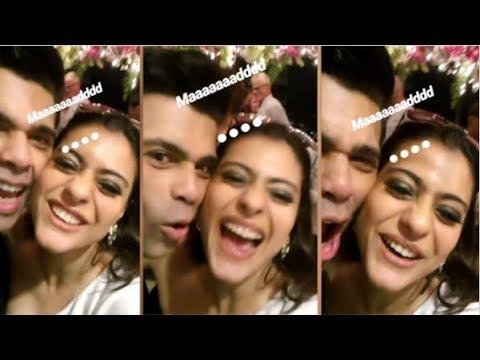 Karan Johar And Kajol Having FUN And Doing MASTI At Party Hosted For Katy Perry