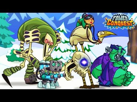 СОЗДАЛ СУПЕР АРМИЮ! Tower Conquest Мульт Игра про БОИ И СРАЖЕНИЯ Видео для детей от Cool GAMES