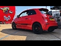 TEST DRIVE IN THE ABARTH 595!