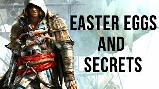 Assassin's Creed 4 Black Flag - All Easter Eggs and Secrets Collection