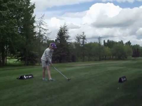 Some action at the MJT Mountain View Credit Union Classic at Olds Central Highlands GC