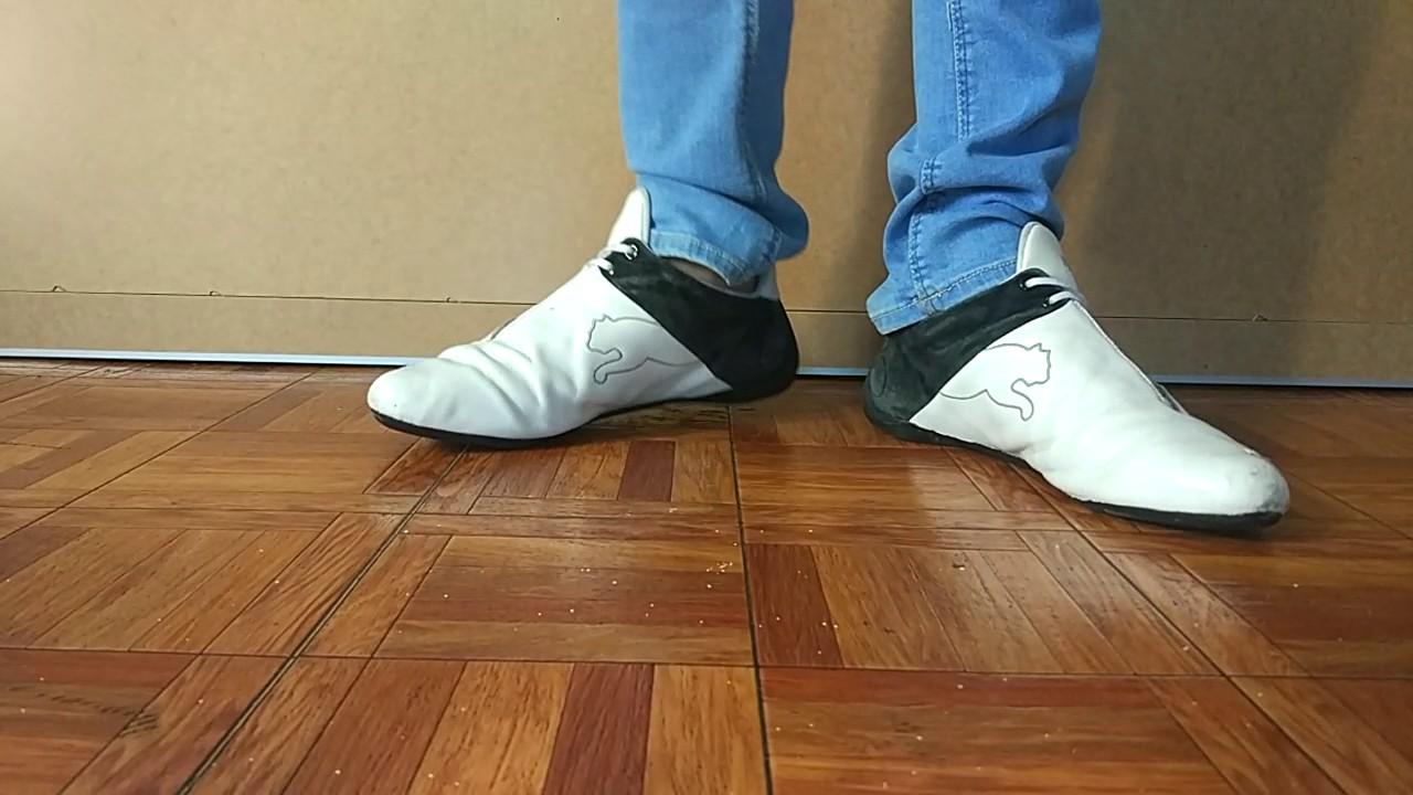 3fc0e6811adc7e Puma future cat white and blue skinny jeans - YouTube