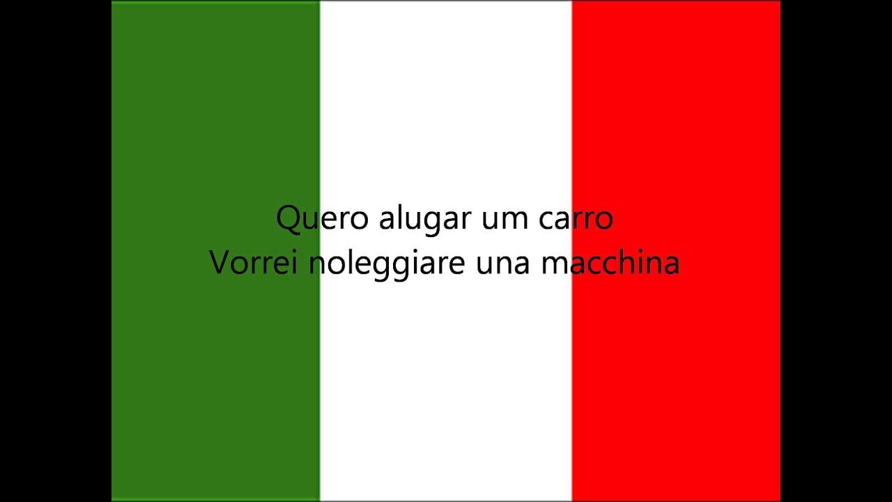 Frases Em Italiano Frases Para Hotel Restaurante E Viagem