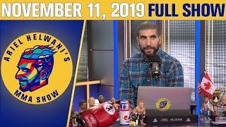 Nick Diaz, Stipe Miocic, Tyron Woodley  | Ariel Helwani's MMA Show (November 11, 2019) | ESPN MMA / Видео