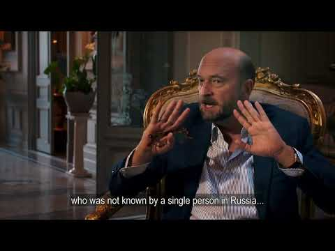 Sergei Pugachev in BBC's film Putin The New Tsar
