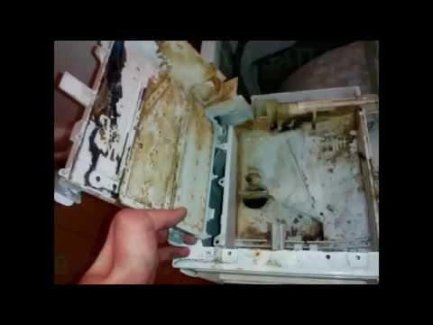 Неприятный запах со стиральной машины, как избавиться.