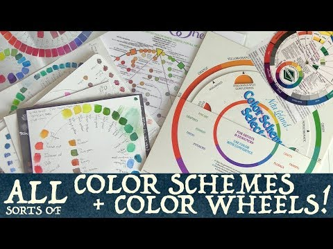 All Sorts Of Color Schemes & Color Wheels!