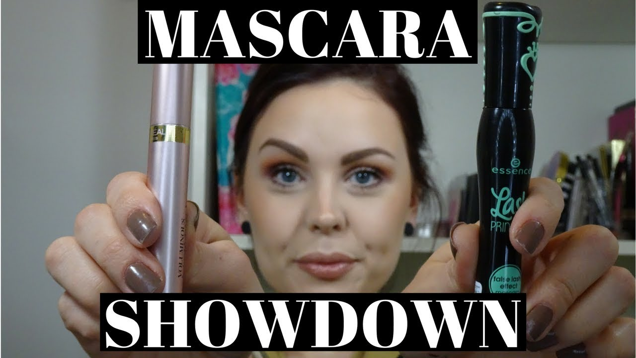cf03fdba2d4 Mascara SHOWDOWN!! ESSENCE Lash Princess VS. L'ORÉAL Voluminous Lash  Paradise