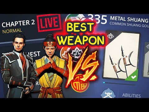 Shadow Fight 3 Live Stream #3. BEST WEAPON vs. Chapter 2: INSANE ITU VICTORY, Xiang Tzu, Galen!