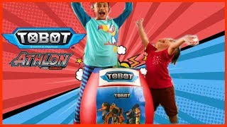 Telur Kejutan Tobot Athlon Robot Tranformers Raksasa | Unboxing Mainan Anak Laki-Laki