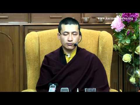 H.H. the 17th Karmapa: Guiding a Meditation