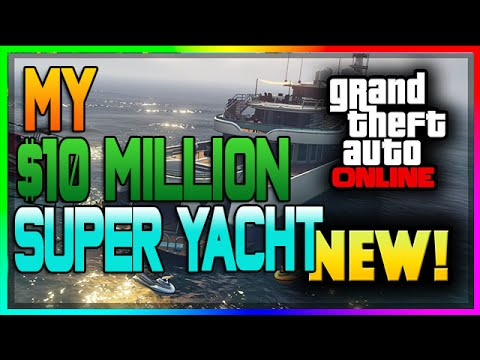 "GTA 5: EXECUTIVES AND OTHER CRIMINALS DLC $100 MILLION ""SPENDING SPREE"" GAMEPLAY! - YACHT PART 1"