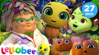 No Monsters Scared Of The Dark! | @Lellobee City Farm - Cartoons & Kids Songs | Sing Along |