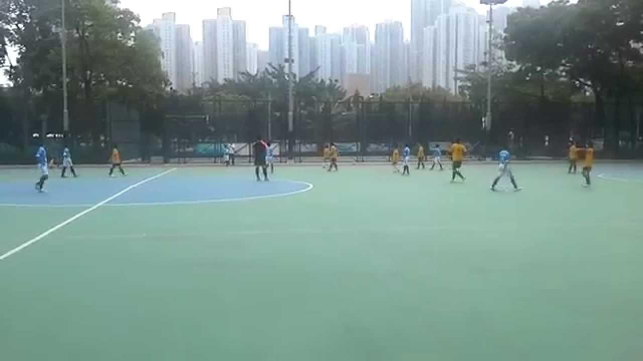 2014西貢區小學學界足球準決賽 - 優才VS播道(上半場) - YouTube