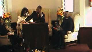 Bishop Dr. Daniel L. Allen teaching about Shekinah Glory