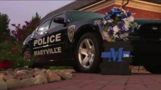 Last call for Maryville Police Officer Kenny Moats (156). Officer K...