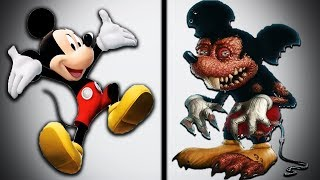 Top 15 Cartoon Characters as Monsters